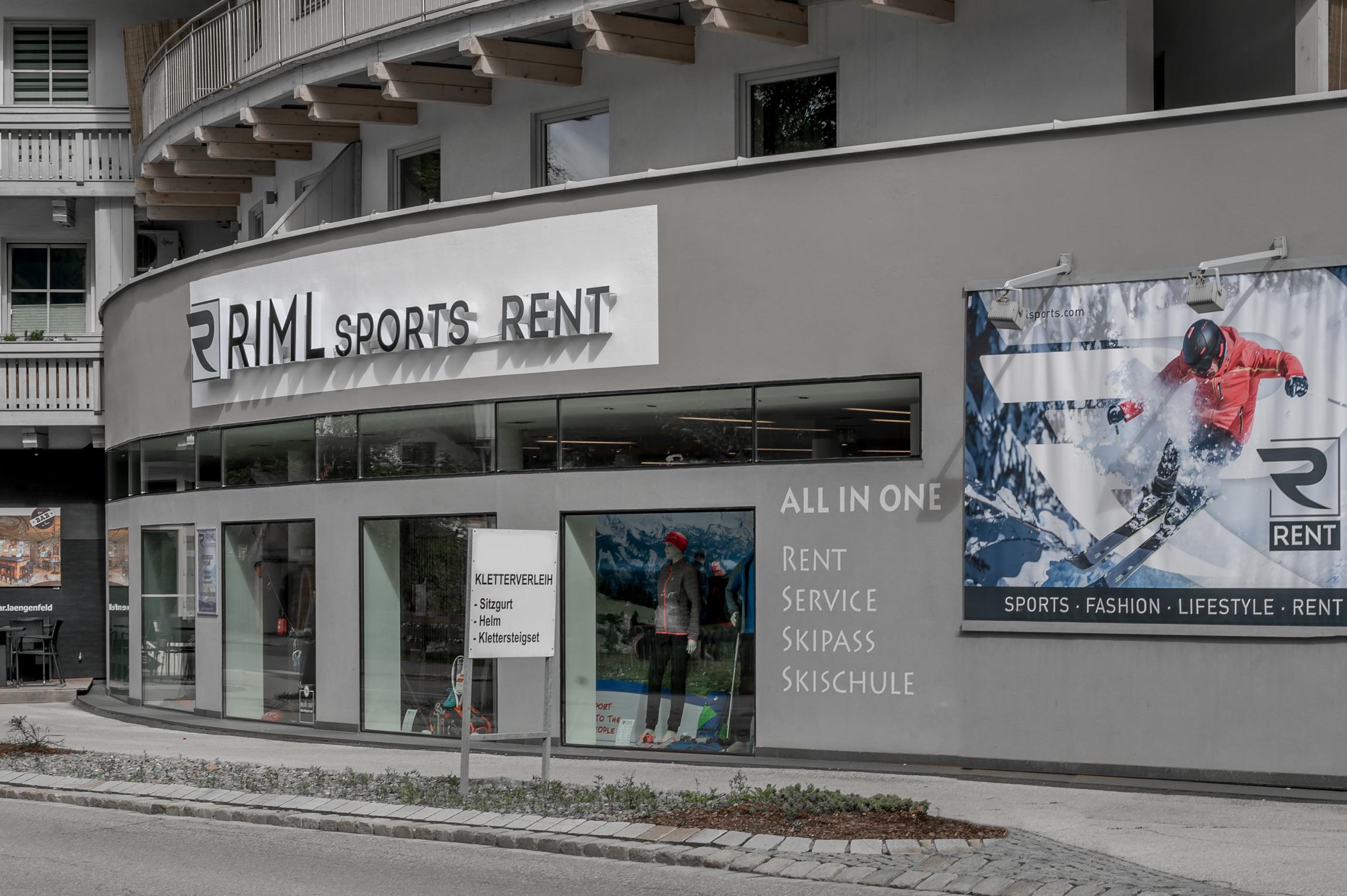 Klettersteigset Outlet : Sportgeschäft in längenfeld im Ötztal : sport shop & skiverleih